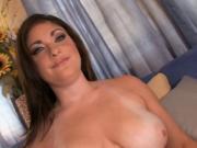 Big tits hottie banged hard by a big cock
