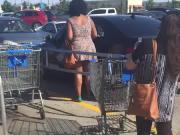 Fatass Upskirt at walmart