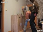 My Dirty Hobby - SamAngel vom Einbrecher gefickt