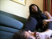 ebony carmen foot worship
