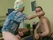 Russian Mature Mom Wants Her Son's cock