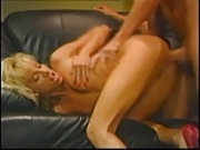 Peter North with blonde bitch