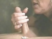 pirced cock piereced mouth alot of cum