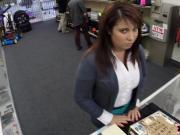 MILF sells her husband's stuff for bail $$$