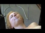 Amateur Blond Gets good facial from a friend