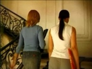 2 lesbian Teens strapon punished by Judge...F70