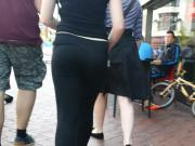 VTL visable thong in the town centre
