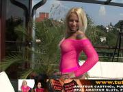 new casting with hot MILF Vivien