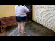 Cleaning a Dirty BBW Girl