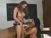 Student Babes Strap-on Fun...F70