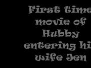Short wife & hubby sex clip