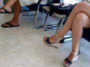 great candid feet