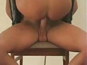 Couple chair fucking