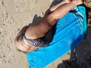 beach cum on milf