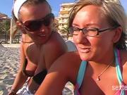 Verfickt am Strand !!