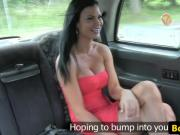 Bigtitted brit taxi beauty titfucking cabbie