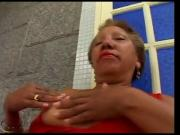 49yr old Black Granny Maria Sucks and gets Fucked Good