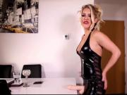 Strap on anal joi femdom pov humiliation sissy