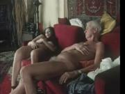 Retro Old vs Young sex scene