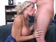 Busty Blonde Gets Ass Nailed