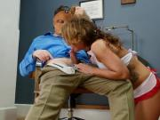 Nurse Savannah Fox Blows Dr Mercies