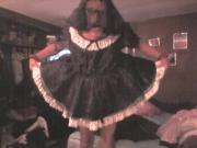 maid joe in his new sissy clothes