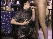 hot granny sucking in party