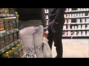 spyshot nice asses in leggins hidden cam in public