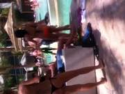 Black Thong Bikini 5