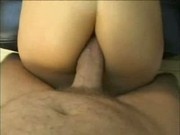 taking a huge dick in her ass