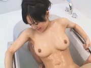 Aoi Sora lotion play scene 2(censored)
