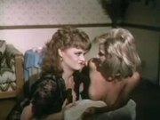 Ginger Lynn & Lisa DeLeeuw in retro Blow off