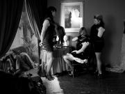 tina serves Mistress Rachel