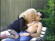 Blonde mature got a good assfuck outdoors-fdcr.flv