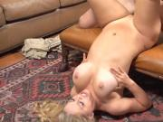 Sexy Blonde Plays with Stepson