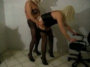 Crossdresser fucked in sexy heels