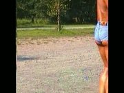 Wunschvideo-Knackpo in Hotpants4