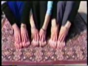 3 Babes tease you with their feet
