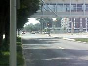 fire truck going through in Evansville,Indiana