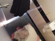 Gloryhole at public toilet 2