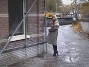 Public Nudity  back alley slut