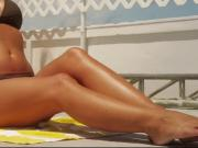 Carmen Electra Swimsuit & Feet