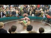 germanys spinning upskirt wheel