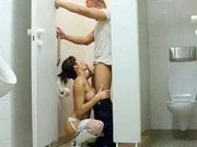 amateur - german couple on toilet