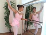 Japanese Sakura Ueno flexible Ballet