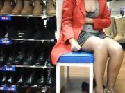 MILF in a shoe store