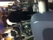 Fat Ass on Treadmill