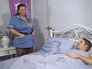 BBW angel nurse
