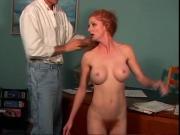 A beautiful redhead woman
