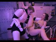 Star Wars XXX Parody - Rey sucks Huge Cock, tight pussy